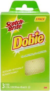 Scotch-Brite Dobie All-Purpose Cleaning Pad 3/Pkg