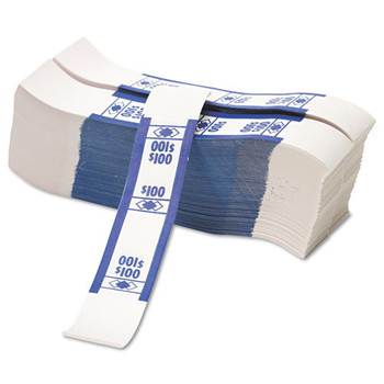 PM Company Color-Coded Kraft Currency Straps - PMC55027