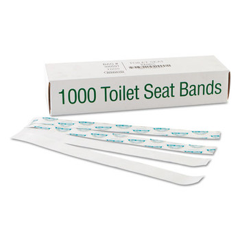Bagcraft Sani/Shield Toilet Seat Bands