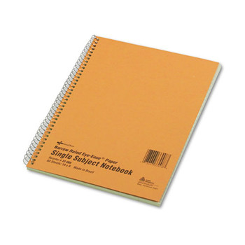 National Single-Subject Wirebound Notebooks - RED33008