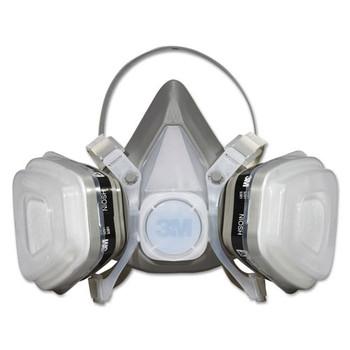 3M Half Facepiece Disposable Respirator Assembly