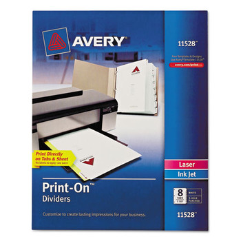 Avery Customizable Print-On Dividers - AVE11528