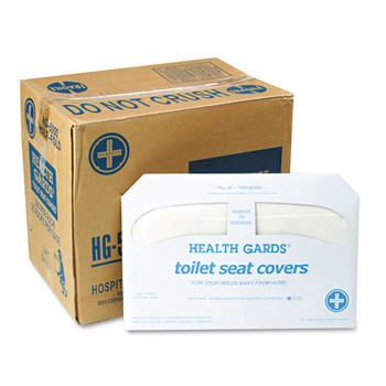 HOSPECO Health Gards Toilet Seat Covers - HOSHG5000CT
