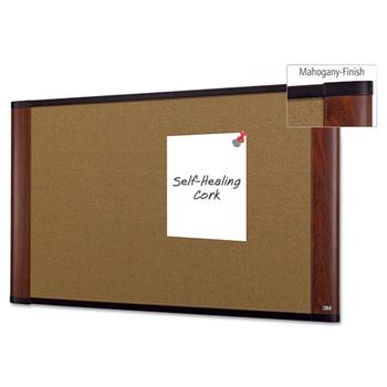 3M Widescreen Cork Board