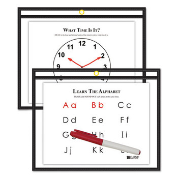 C-Line Reusable Dry Erase Pockets - CLI40711