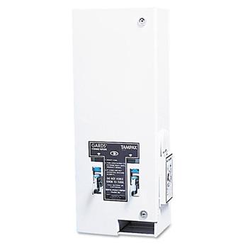 HOSPECO Dual Sanitary Napkin/Tampon Dispenser