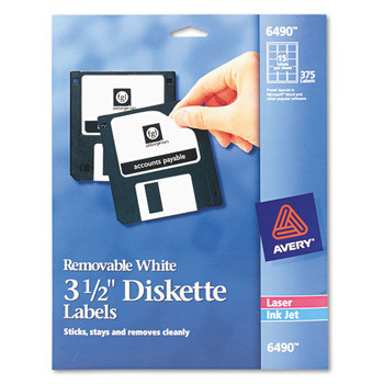 Avery Diskette Labels