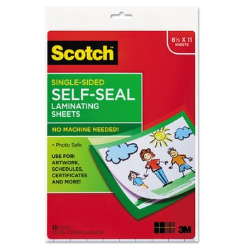 Scotch Self-Sealing Laminating Sheets