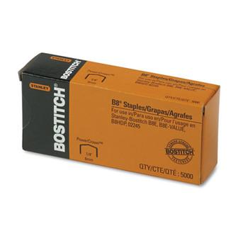 Bostitch B8 PowerCrown Premium Staples