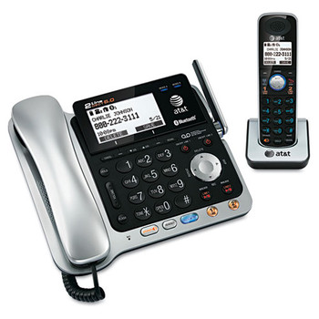 AT TL86109 Two-Line DECT 6.0 Phone System with Bluetooth and Digital Answering System