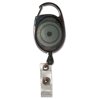 Advantus Carabiner-Style Retractable ID Reel - AVT75551