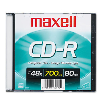 Maxell CD-R Recordable Disc - MAX648201