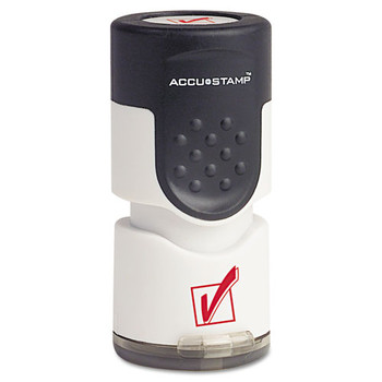 ACCUSTAMP Pre-Inked Round Stamp - COS035658