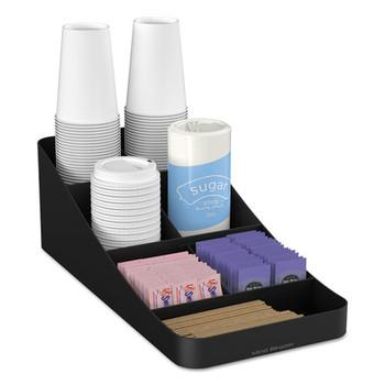 Mind Reader Trove 7-Compartment Coffee Condiment Organizer