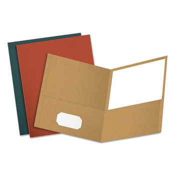 Oxford Earthwise by Oxford 100% Recycled Twin-Pocket Folder - OXF78513