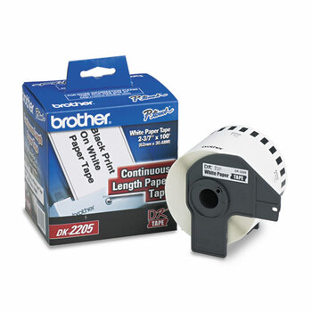 Brother Continuous Length Label Tapes - BRTDK2205