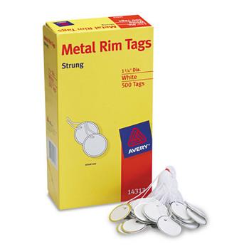 Avery Metal Rim Tags
