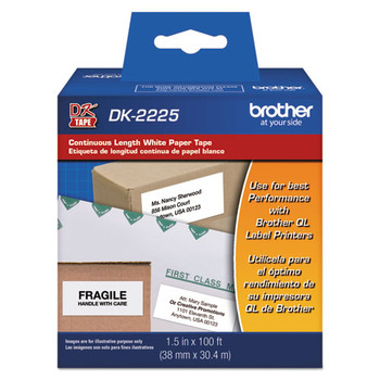 Brother Continuous Length Label Tapes - BRTDK2225
