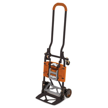 Cosco 2-in-1 Multi-Position Hand Truck and Cart - CSC12222BGO1E