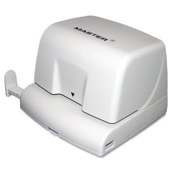 Master EP210 Electric/Battery-Operated Two-Hole Punch