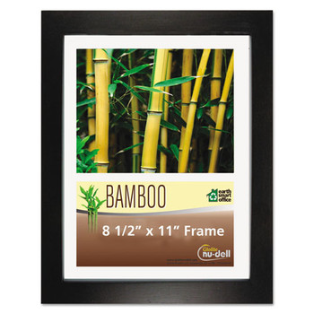 NuDell Black Bamboo Frame