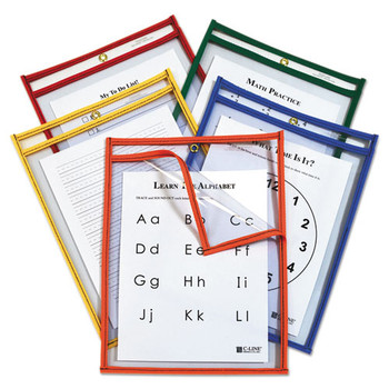 C-Line Reusable Dry Erase Pockets - CLI42620
