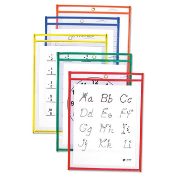 C-Line Reusable Dry Erase Pockets - CLI40620