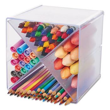deflecto Stackable Cube Organizer - DEF350201