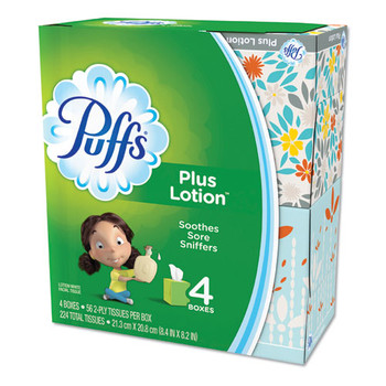 Puffs Plus Lotion Facial Tissue - PGC34899CT