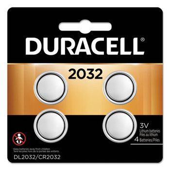 Duracell Lithium Coin Batteries - DURDL2032B4PK