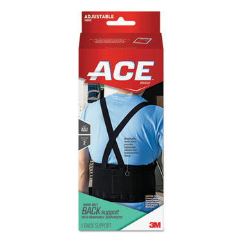 ACE Work Belt with Removable Suspenders