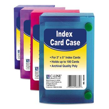 C-Line Index Card Case