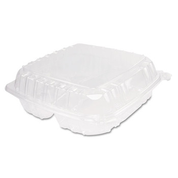 Dart ClearSeal Hinged-Lid Plastic Containers - DCCC95PST3