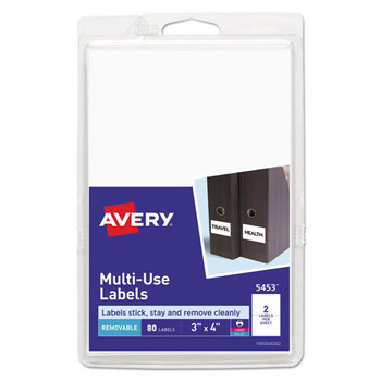 Avery Removable Multi-Use Labels - AVE05453