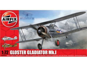 Airfix Gloster Gladiator Mk.I Model Kit 1:72 Scale