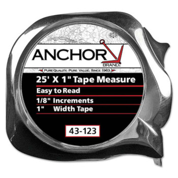 Anchor Brand Easy to Read Tape Measures