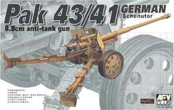 1/35 German Pak 43/41 Scheuntor 8.8cm Anti-Tank Gun