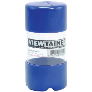"Viewtainer Slit Top Storage Container 2""X4"" Blue"