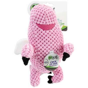 goDog Checkers with Chew Guard Small Flying Pig