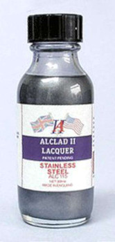 Alclad II Lacquers Stainless Steel 1oz - ALC115