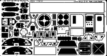 Eduard Models Aircraft- B17F/G Interior -- Plastic Model Aircraft