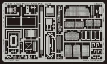 Eduard Photoetch 1:35 - Krupp Protze PaK.35/36 37mm (Tamiya) - EDP35585