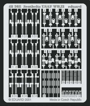 USAF WWII Seat Belts- 1:48 -Eduard