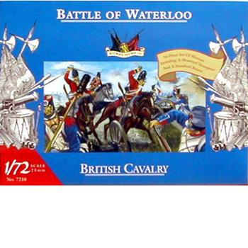 Accurate Figures 1/72 Battle of Waterloo British Cavalry