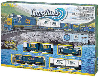 Bachmann Trains Coastliner Freight Train Set, HO Scale 734-BT