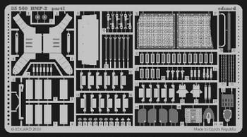 Eduard Models Armor- BMP2 -- Plastic Model Vehicle Accessory -- 1/35