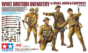 Tamiya 32409 - 1/35 WWI British Infantry w/Small Arms & Equipment