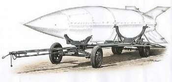 Vidalwagen Road V2 Missile Transporter -- Plastic Model Military Vehicle Kit -- 1/72 -- #172009