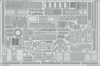 1/144 Ship- HMCS Snowberry Superstructure Pt.2 for RVL