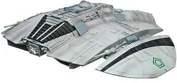 Battlestar Galactica Original Cylon Raider -- Science Fiction Plastic Model -- 1/32 Scale -- #941